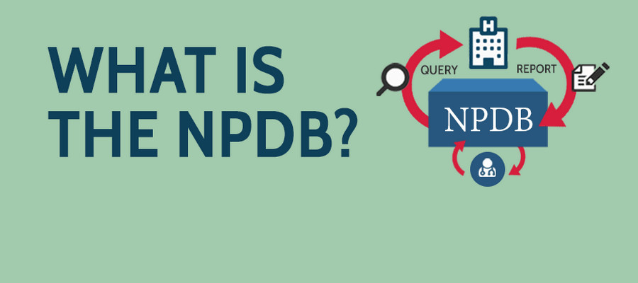 An image that asks What is the NPDB? and shows a brief overview of the infographic.